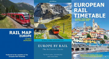 Summer 2019 ERT, Europe by Rail & Rail Map Europe BUNDLE